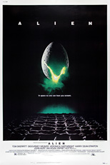 thumbnail link to original 1979 Alien 60x40 US poster