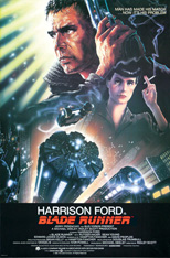 thumbnail link to original 1982 Blade Runner U.S. 1 Sheet poster, John Alvin signed
