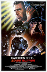 thumbnail link to original 1982 Blade Runner 60x40 US poster, John Alvin signed