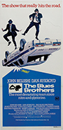 thumbnail link to original 1980 The Blue Brothers Australian daybill poster