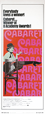thumbnail link to original US 1974 rerelease 30x40 poster Cabaret
