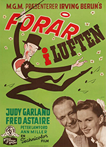 thumbnail link to original Easter Parade 1949 Danish poster.