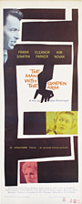 thumbnail link to original 1960 The Man with The Golden Arm U.S. insert poster