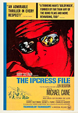 thumbnail link to original 1965 US 30x40 poster The Ipcress File
