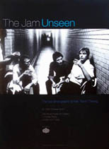 thumbnail link to The Jam Unseen special signed exhibition poster