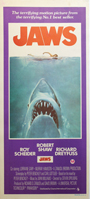 thumbnail link to original 1975 daybill poster Jaws