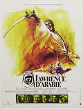 thumbnail link to original 1971 rerelease French poster Lawrence of Arabia