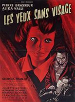 thumbnail link to original French poster Les Yeux Sans Visage, Jean Mascii art.