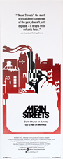 thumbnail link to original 1973 Mean Streets insert poster