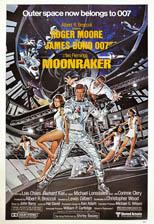 thumbnail link to original 1979 United Artists US 60x40 Moonraker poster