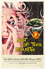 thumbnail link to original 1957 US 1 Sheet poster Not of this Earth
