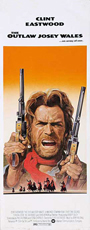thumbnail link to original 1976 U.S. Insert poster The Outlaw Josey Wales