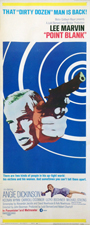 thumbnail link to original 1967 US insert poster Point Blank