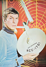 thumbnail link to original 1966 Personality Poster Star Trek Spock