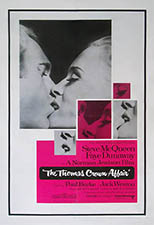 thumbnail link to original 1968 US 1 sheet poster The Thomas Crown Affair