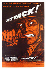 thumbnail link to original 1956 US 1sheet Attack!.