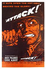 thumbnail link to original 1956 US 1sheet Attack!.