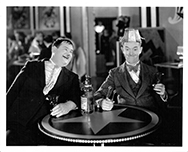 thumbnail link to original 1930 STAX photo Laurel and Hardy Blotto.