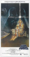thumbnail link to original 1977 Star Wars international 3 sheet poster