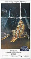 thumbnail link to original 1977 Star Wars international 3 sheet poster