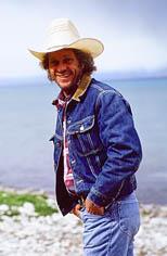 thumbnail link to photograph of Steve at Yellowstone