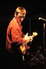 thumbnail link to photograph Paul Weller at soundtrack